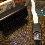 レトロフリークのカスタム「PQI AirCard」を使用してデータをネットワーク経由でバックアップできた。