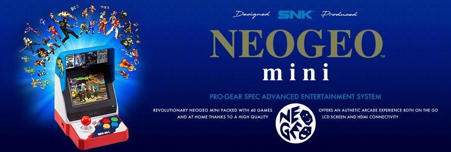 【NEOGEO mini】昔懐かしのアーケード筐体が手のひらサイズに!ファミコンミニを超える神機になるか!?