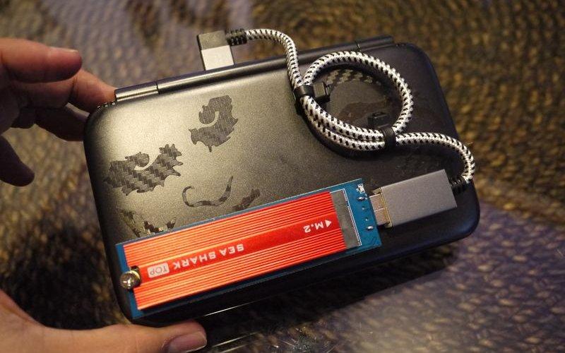 GPD WINで使用していたUSBメモリが壊れたのでm.2 SSDを外付け増設してみた